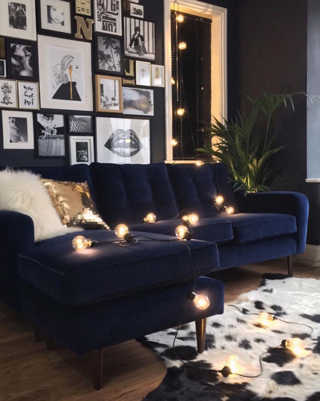 A Story Of Home Artynads Velvet Sofa Living Room Blue Couch Living Room Blue Sofas Living Room