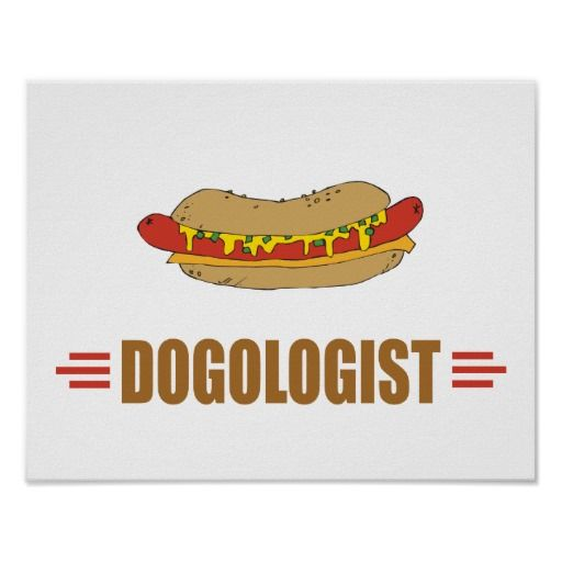 Funny Hot Dog Poster Zazzle Com Hot Dogs Dog Poster Funny