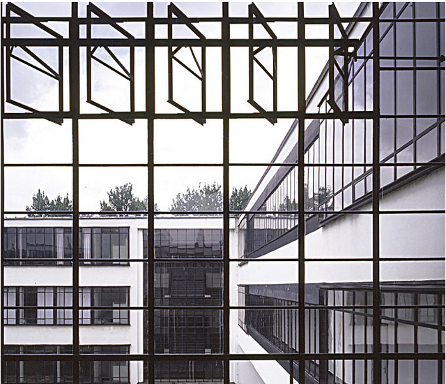 windowstatement/walter gropius, bauhaus Bauhaus