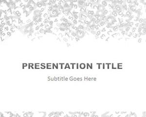Free Numbers Powerpoint Template Is A Free Ppt Template With