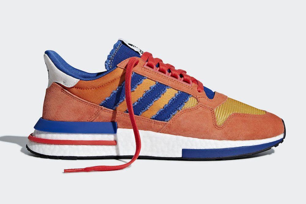 Dragon Ball Z X Adidas Zx500 Rm Son Goku Szczegoly Premiery Adidas Dragon Sneakers Adidas Zx