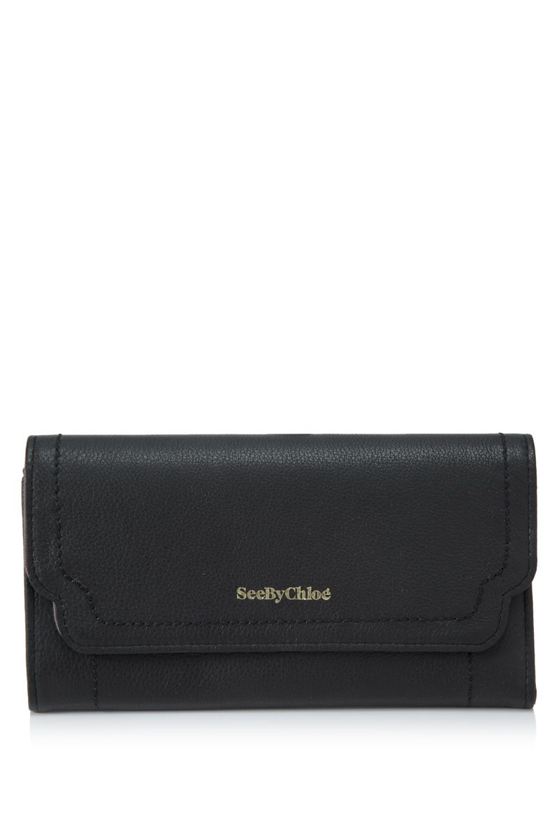 SEE BY CHLOÉ See By Chloé Berty Long Flap Wallet | REEBONZ THAILAND saved by #ShoppingIS