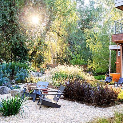 6 ways to amp up a natural setting planting. Black Bedroom Furniture Sets. Home Design Ideas