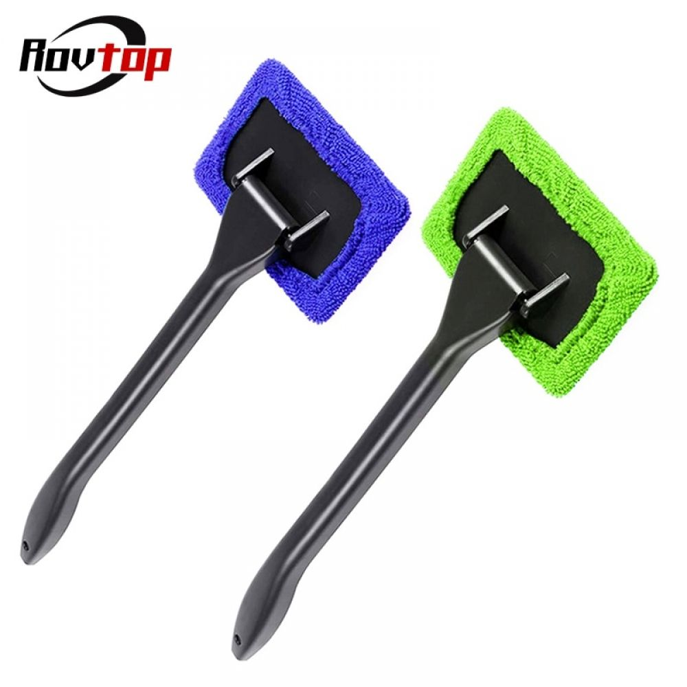 Photo of Window Cleaner Brush Kit Car Window Windshield Cleaning Wash Tool Inside Interior Auto Glass Wiper With Long Handle Z2 – Sherry Mart