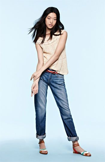 AG Jeans & Free People Top | Nordstrom- this looks comfy.