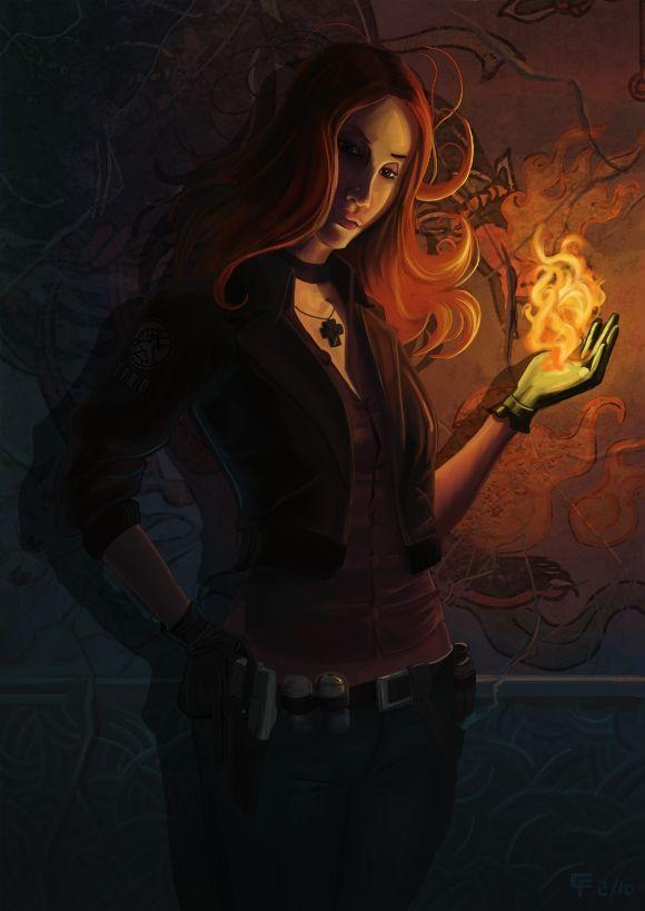 Hellboy Liz Sherman