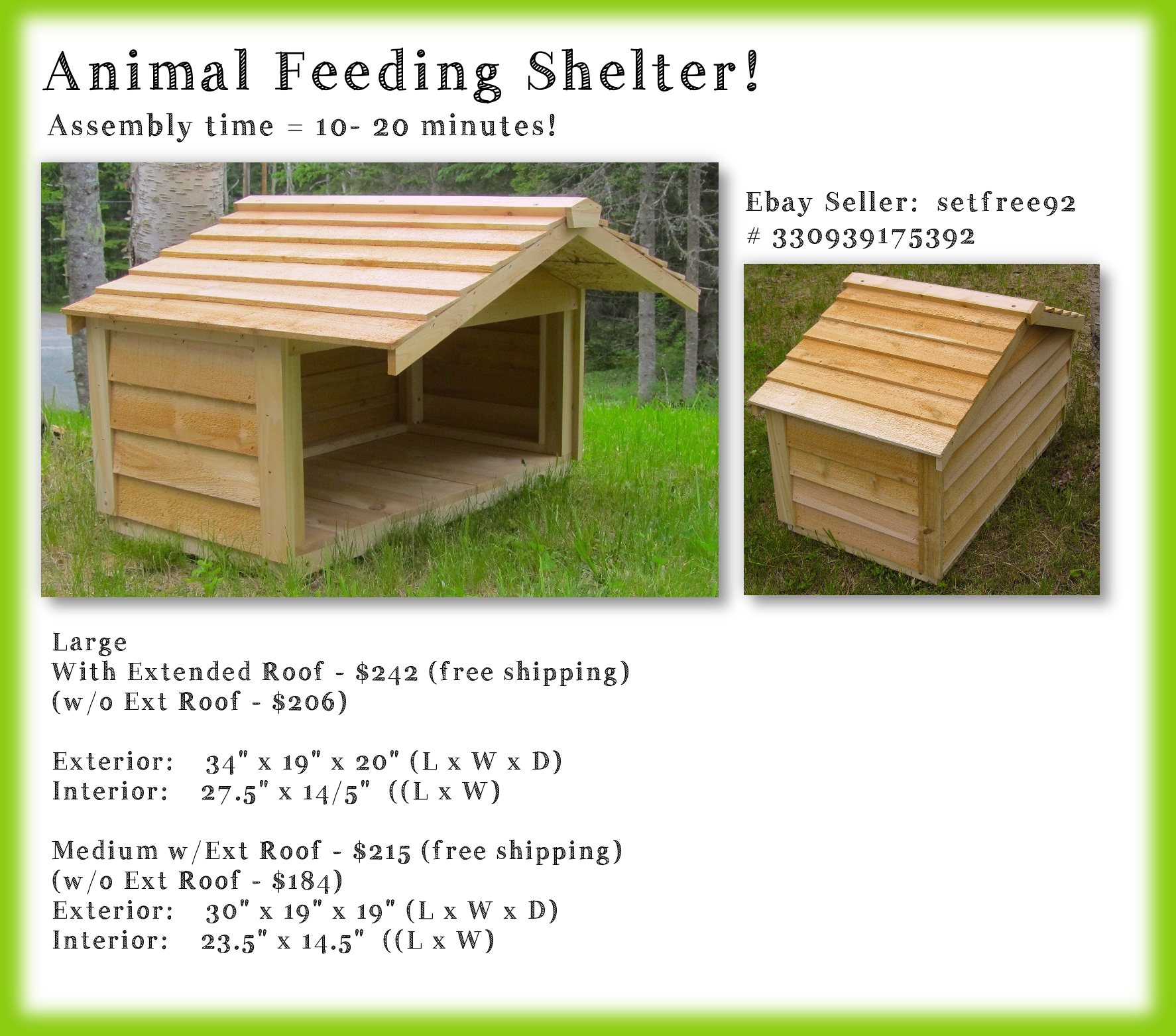 Great Solution For Duck Feeding Station Made Of Cedar Love The Overhang We Could Paint It Blue An Outside Cat House Outdoor Cat Shelter Outdoor Cat House