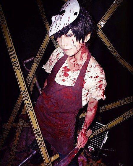 Ichimatsu from Osomatsu-san cosplay