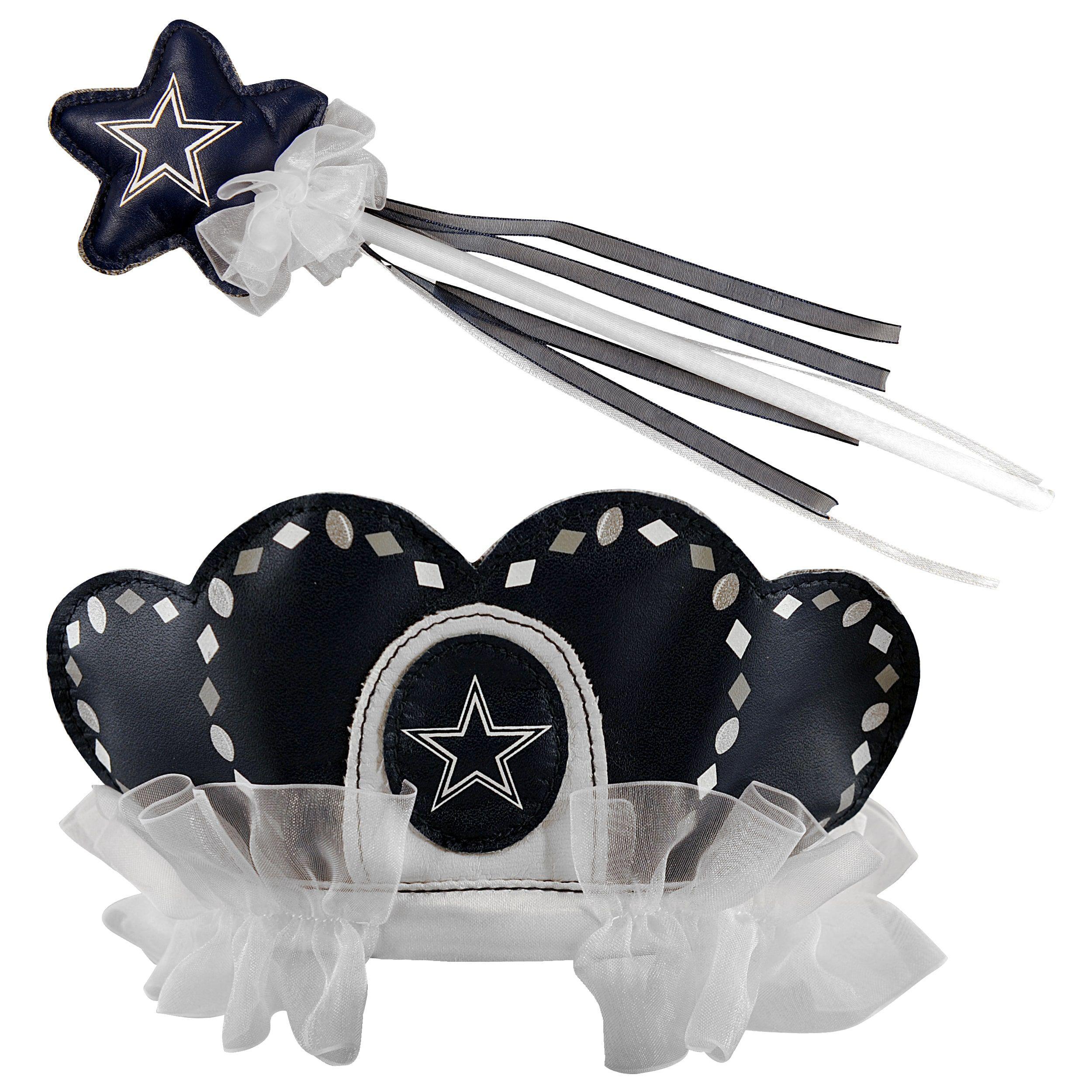Bleacher Creatures Dallas Cowboys Tiara Wand Set, Toddler Girl's