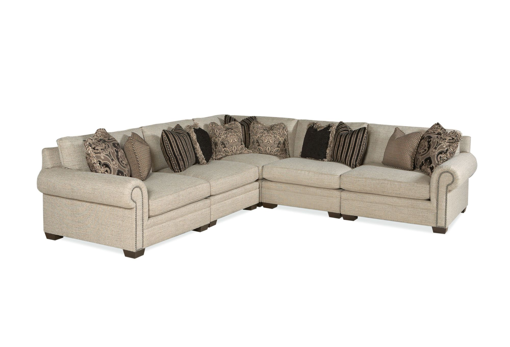 Bernhardt Brae Sectional Sofa B6893 B6842 Barns