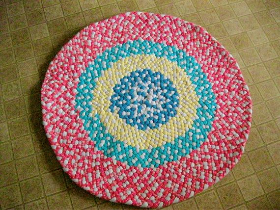 Made To Order Braided Nursery Rug In Your Choice Of By Mrsginther 129 00