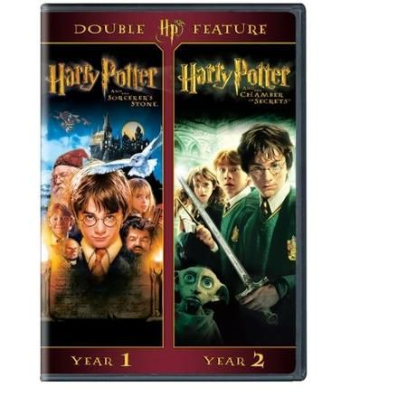 Harry Potter Double Feature Sorcerer S Stone And The Chamber Of