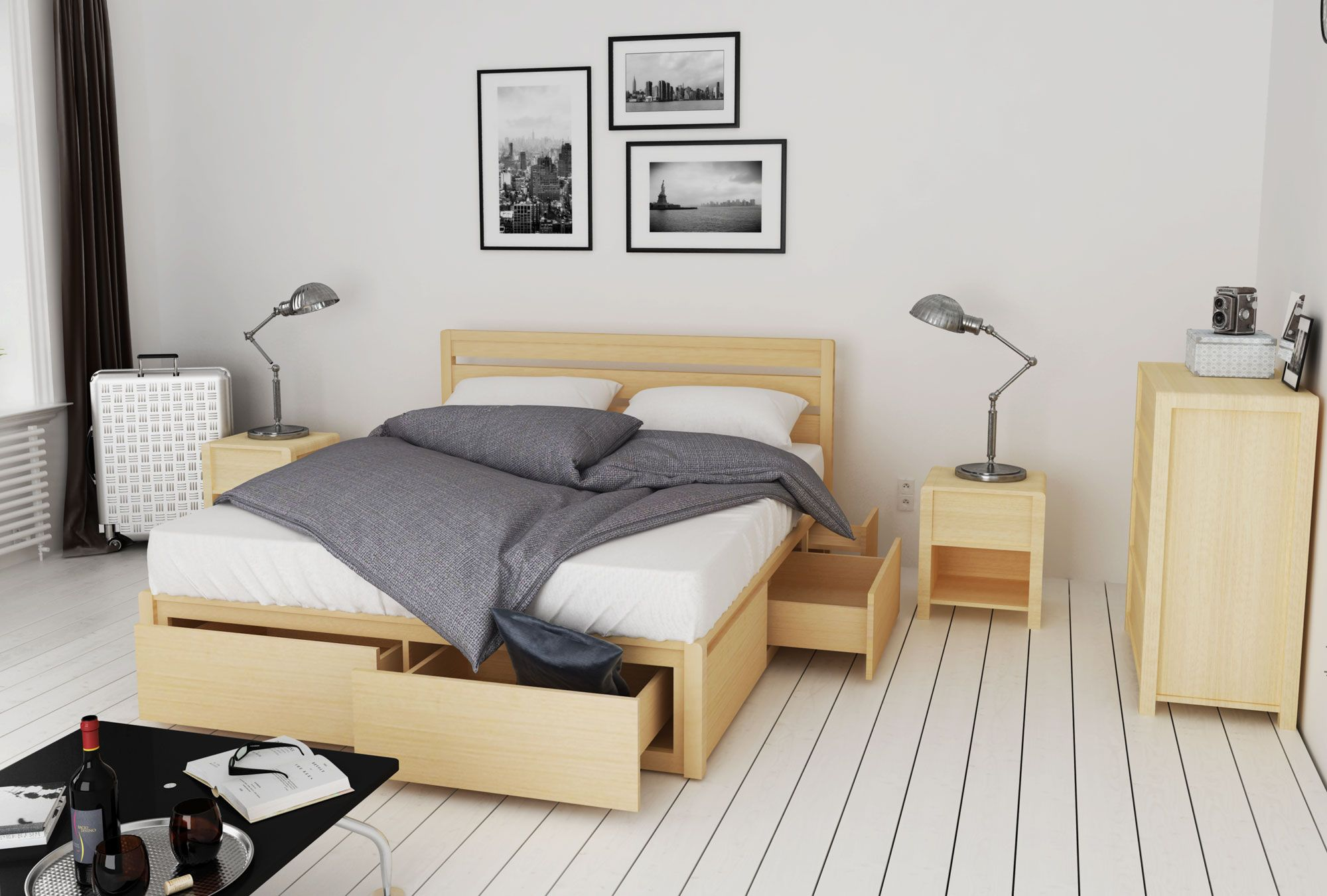 Oakano Furniture Nz Quality Living Bedroom Furniture Bed Frame With Storage Small Room Design Bedroom Room Design Bedroom