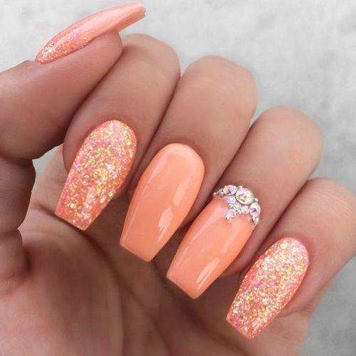 43 Noble Nail Art Farbe für den Sommer