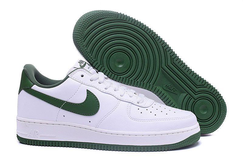 nike air force 1 blanche verte