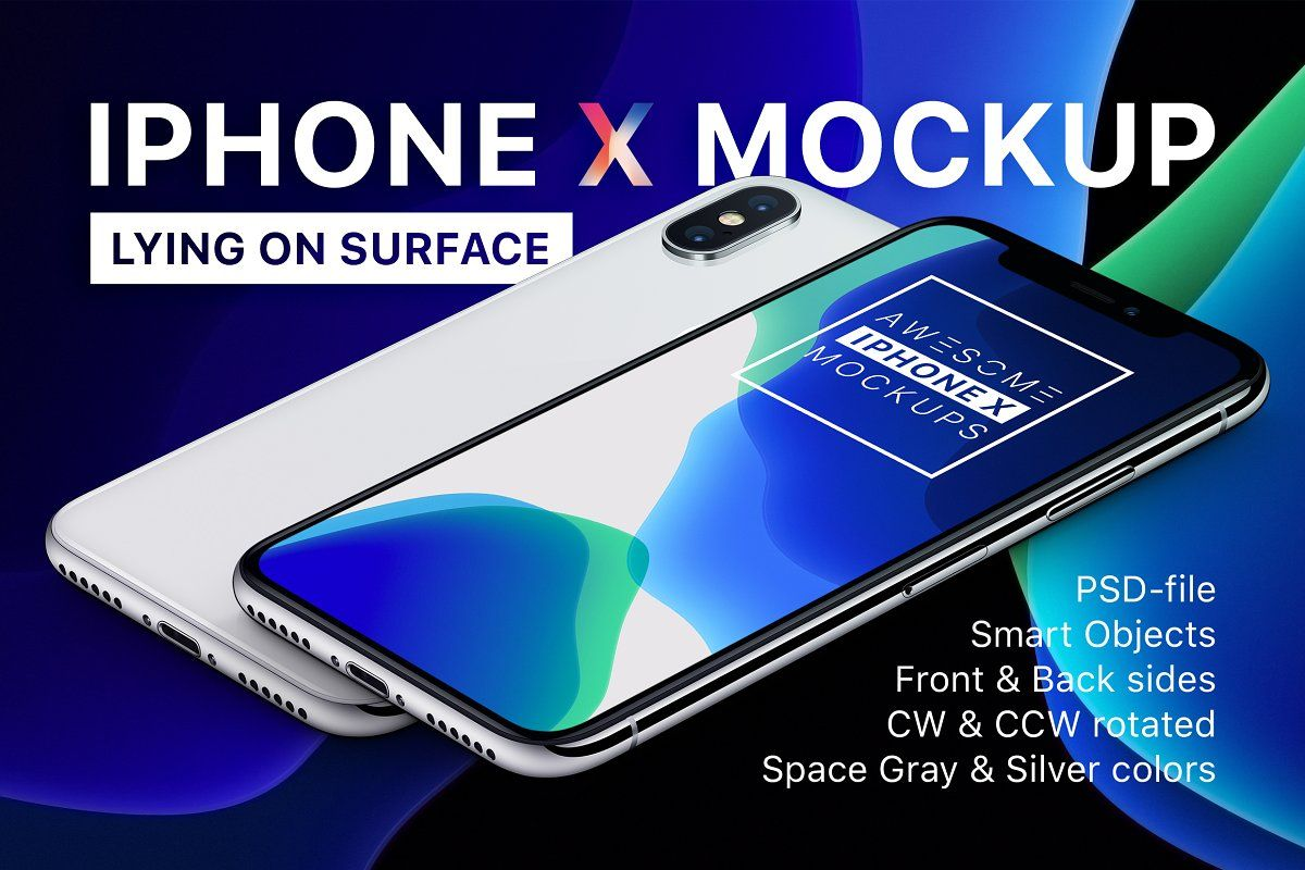 Download Iphone X Mockup Lying On Surface In 2020 Free Psd Mockups Templates Design Mockup Free Mockup Psd PSD Mockup Templates