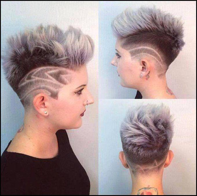 Ausgefallene Frisuren Mit Undercut Mittellange Haare