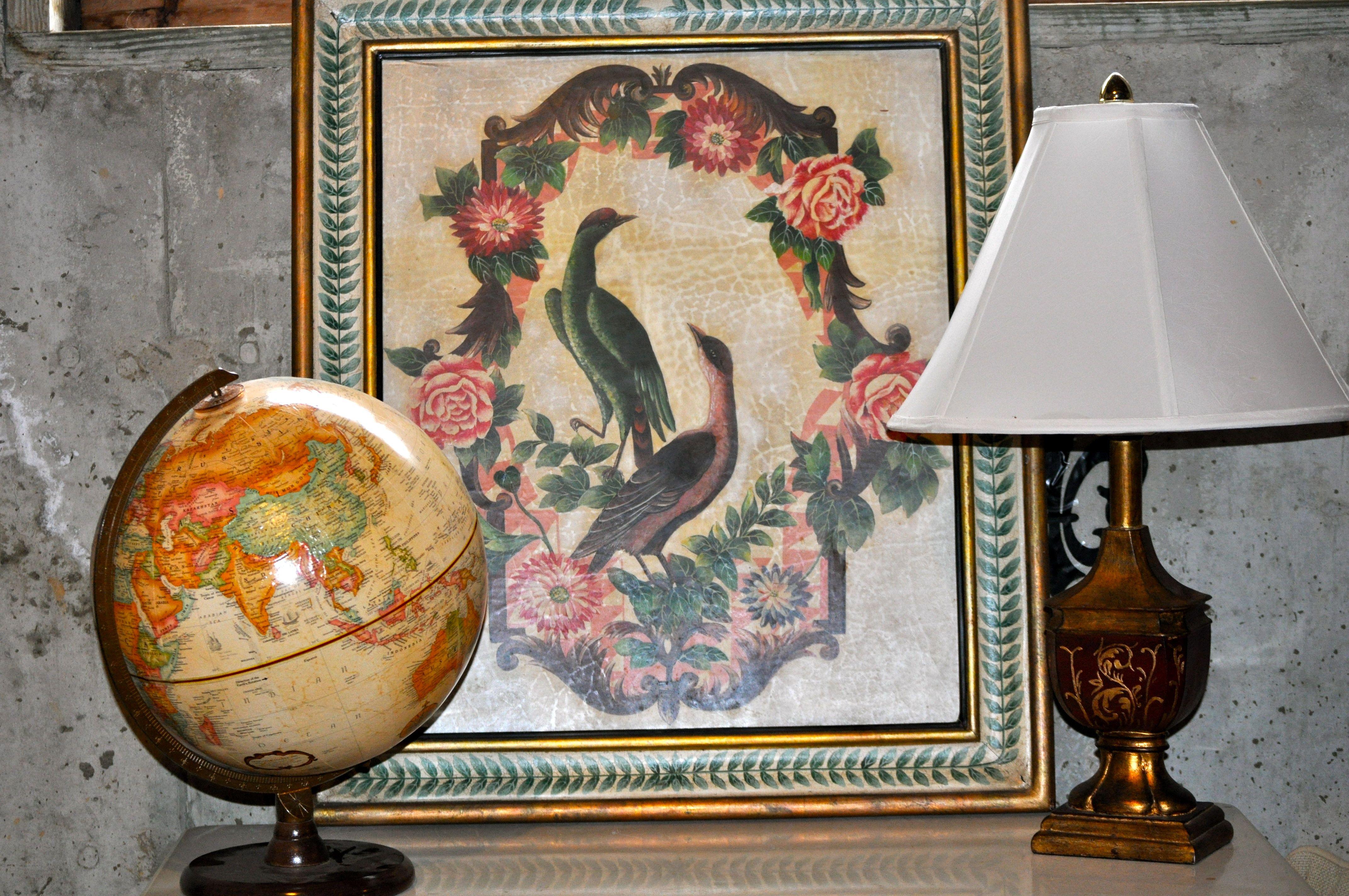 Tuscan-style Lamp w/ Shade - 24 dollars   Tuscan style ...