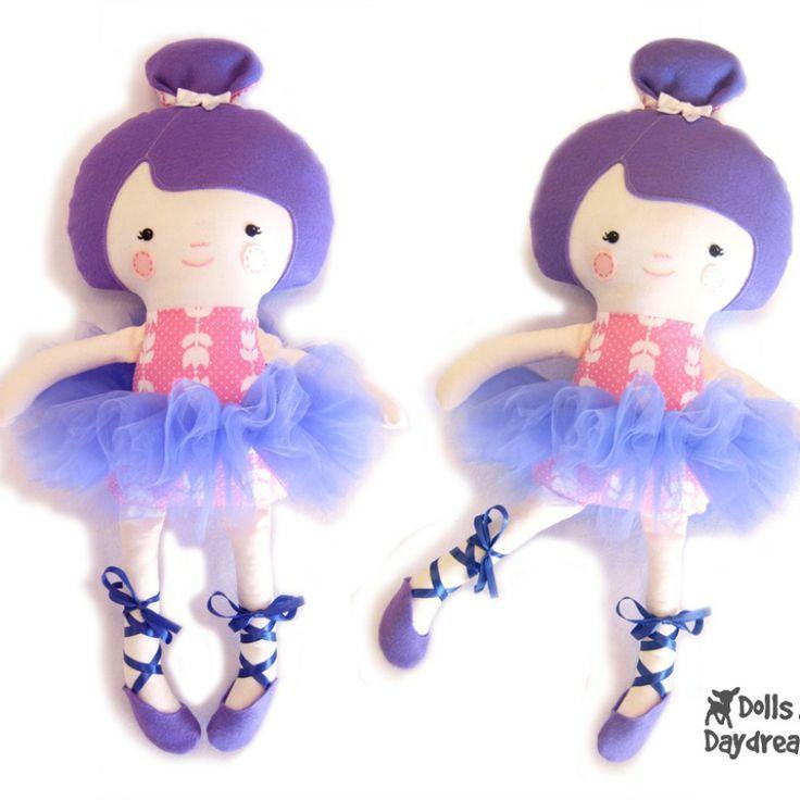 Куклы и грезы / Балерина строчки | dolls | Pinterest