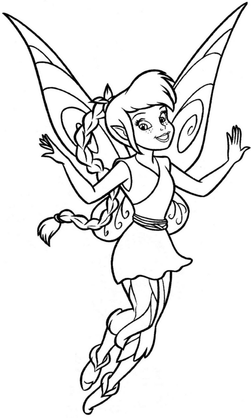 tinkerbell para colorear buscar con google coloring pages tinkerbell coloring pages fairy. Black Bedroom Furniture Sets. Home Design Ideas