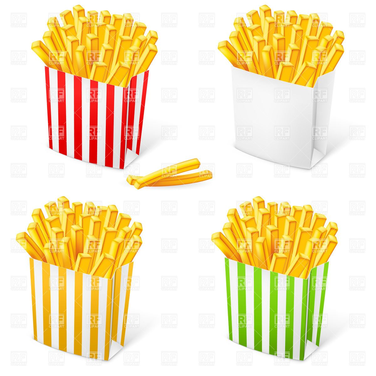 Images For French Fries Clipart French Fries Fries Food Illustrations