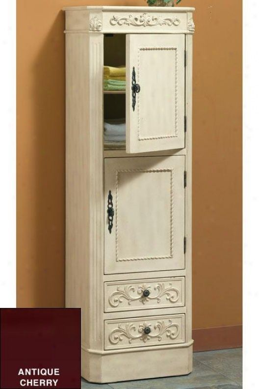 chelsea 2door linen cabinet bathroom