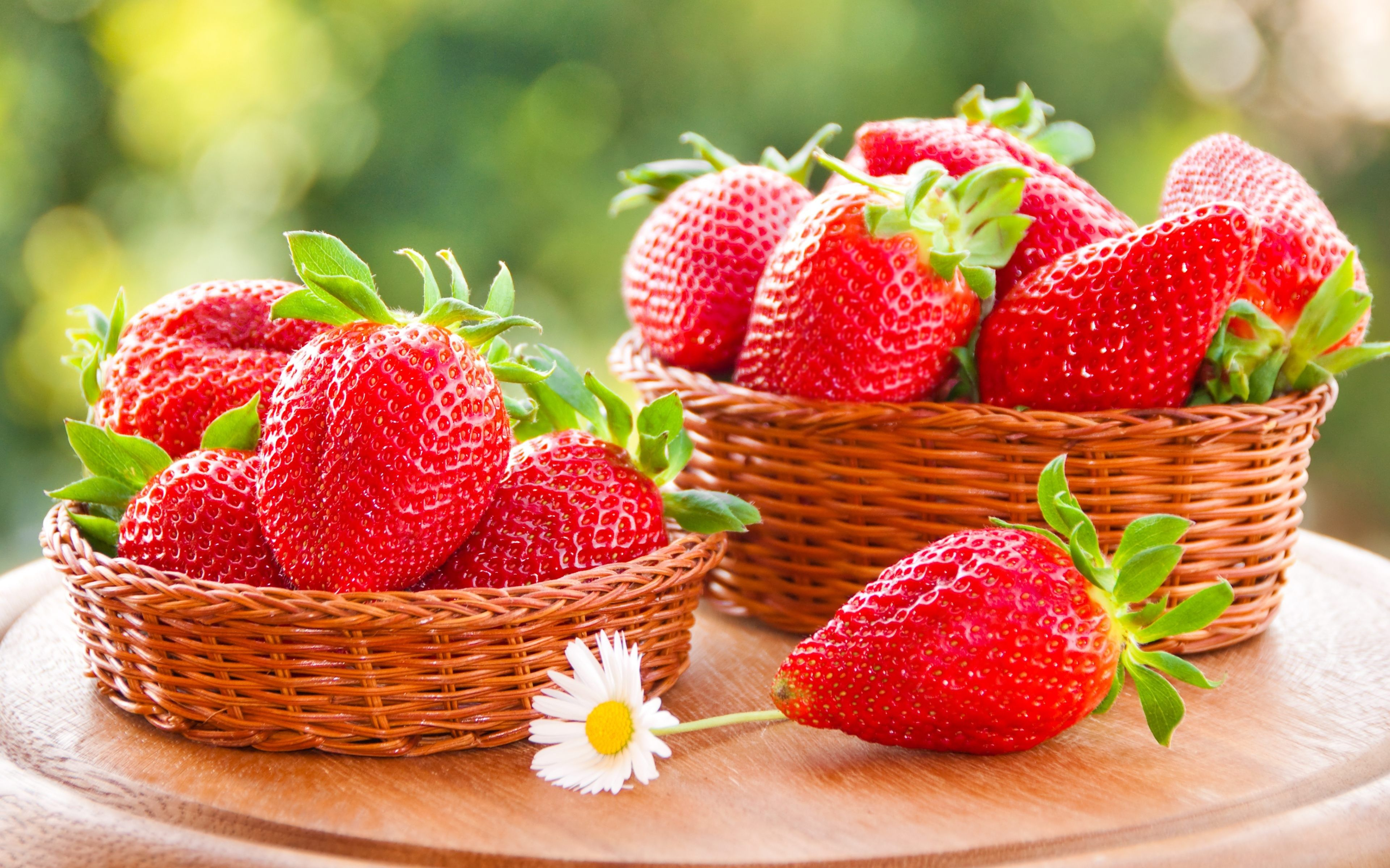 strawberries basket 4k ultra hd wallpaper Favorite