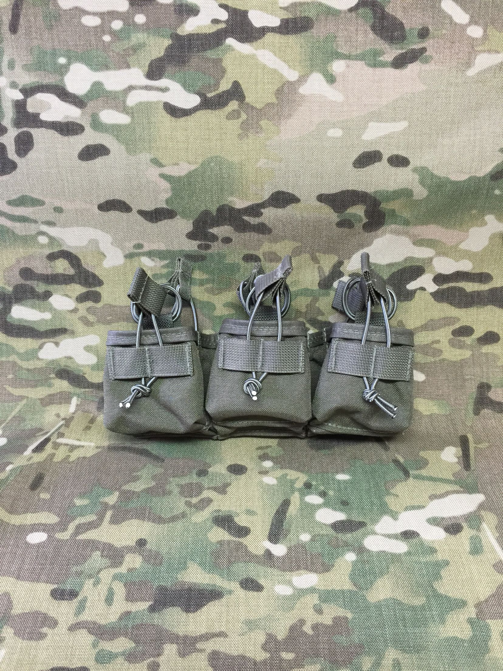 10 round ar15 six pack magazine pouch three wide by two deep