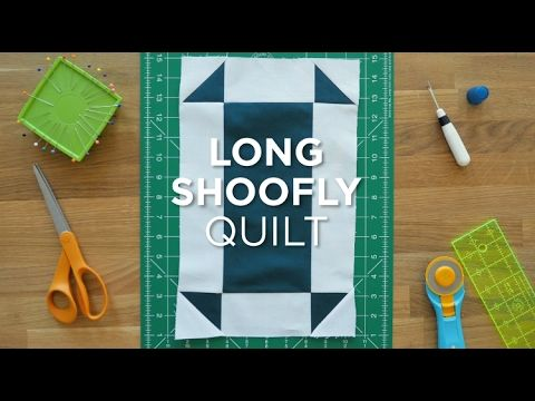 Quilt Snips Mini Tutorial- Long Shoofly - YouTube
