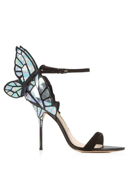 396e4a5108 Sophia Webster Chiara butterfly-wing sandals | Shoes ...