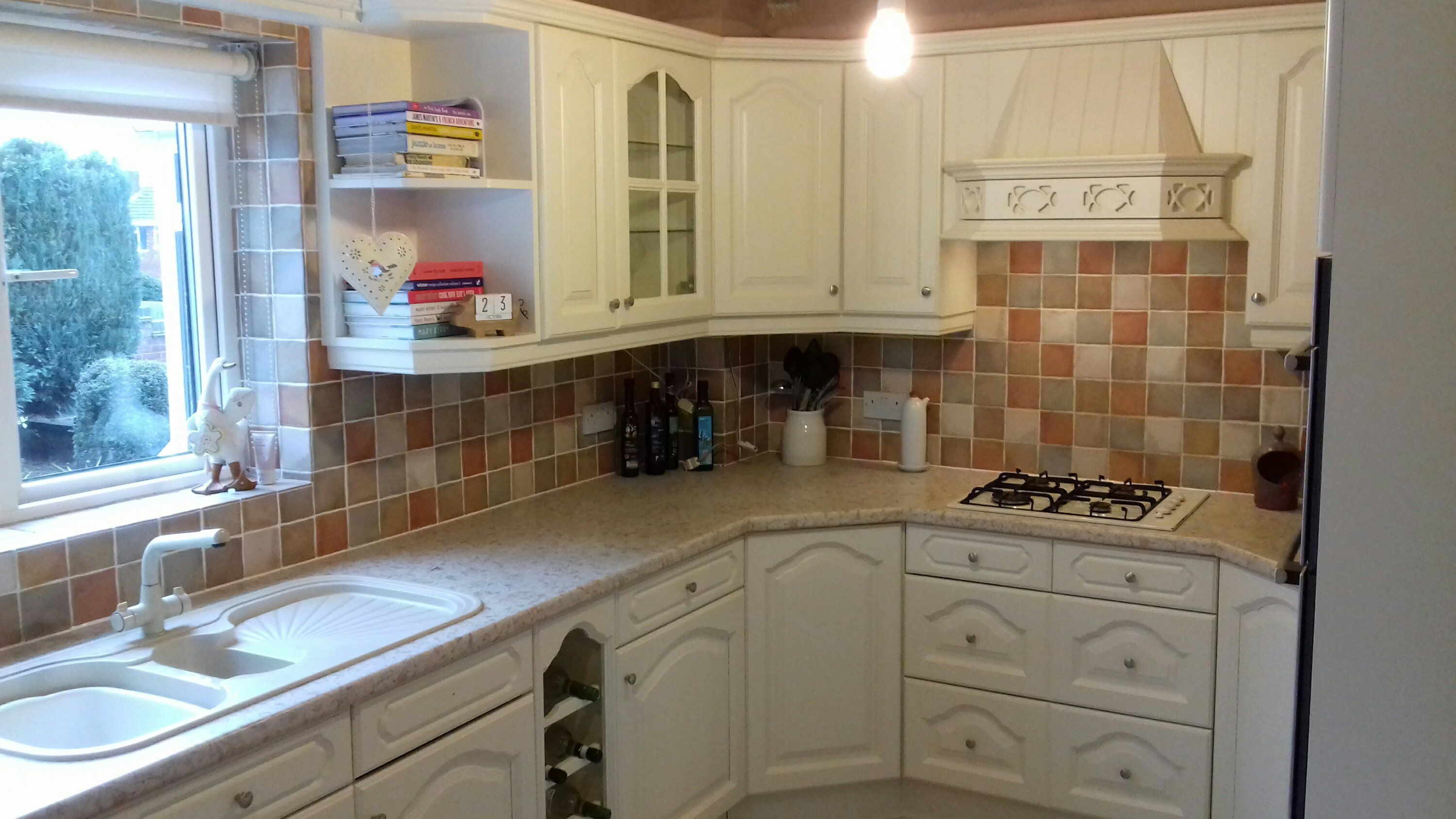 Kitchen Cupboard Painters Leicestershire A Few Before And After Pictures Of This 15 Year Old Chestnut