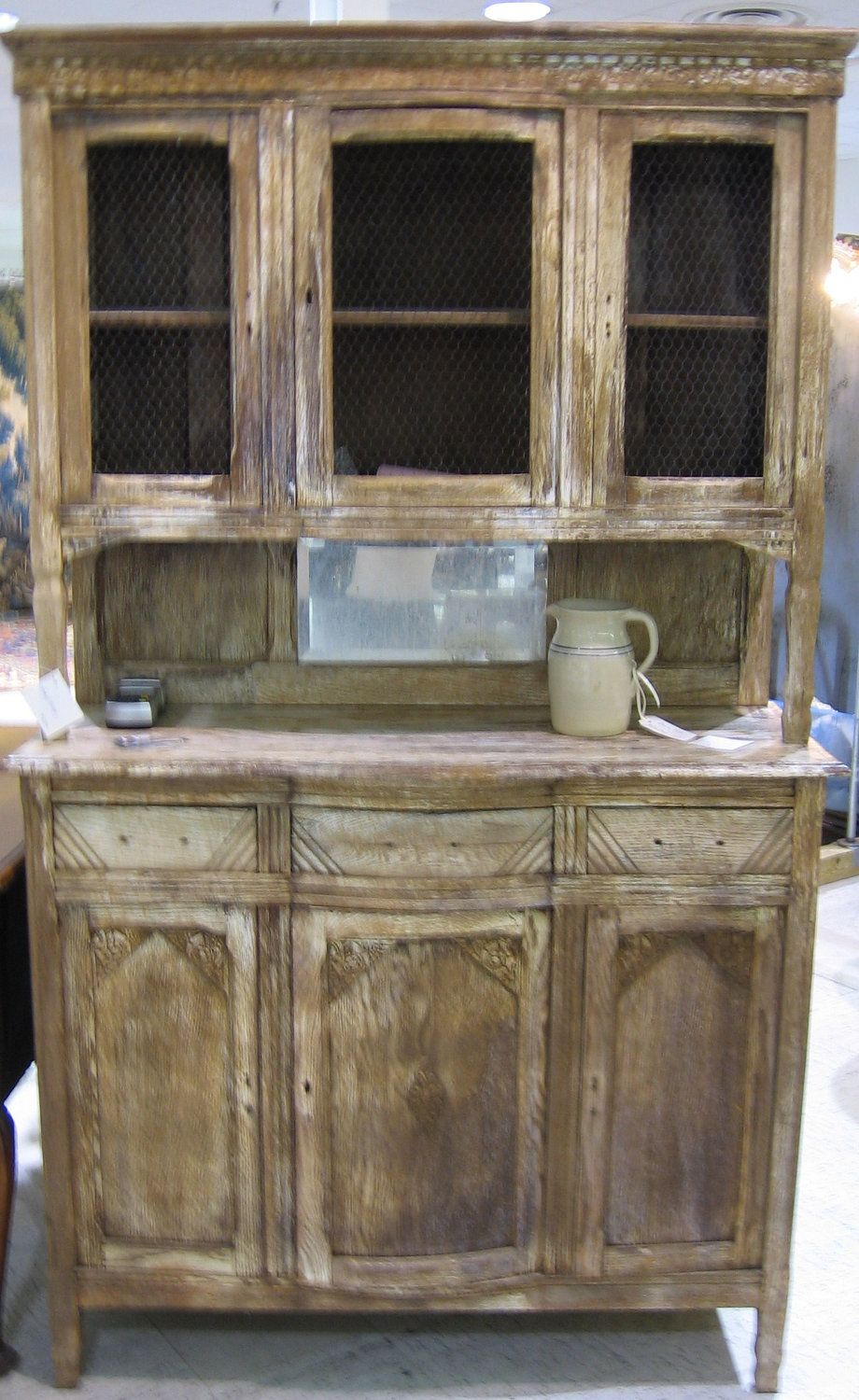 Rustic French Vintage Buffet 1920 - 1940. ETSY Uptown Atlanta ...