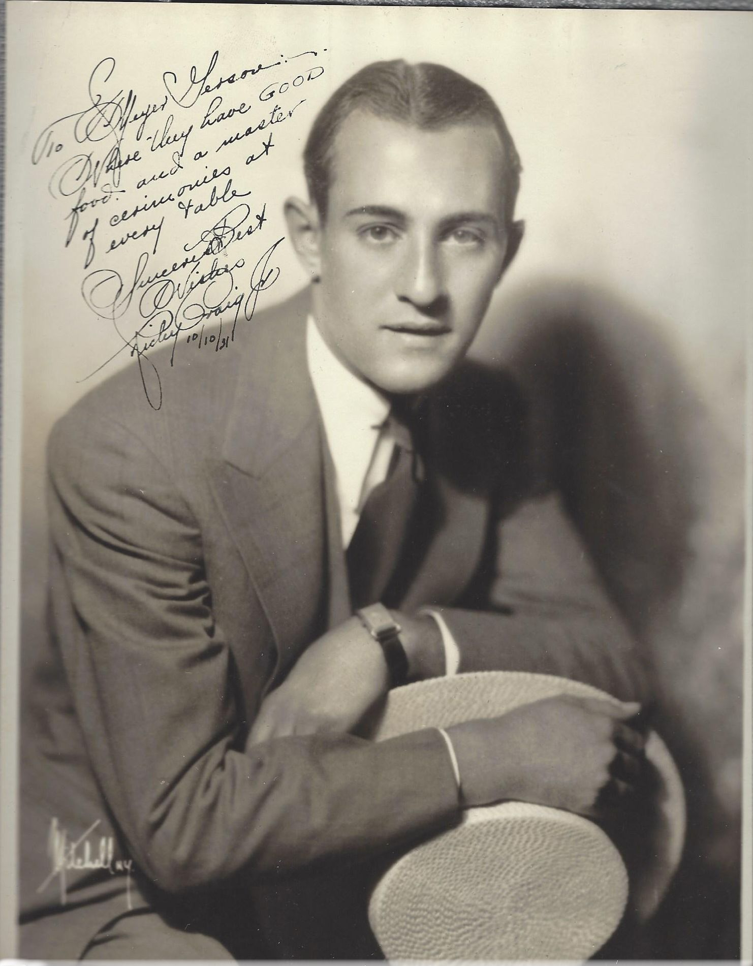 Richy Craig, Jr. - Actor -  (1902–1933) His early death was attributed to a weakened heart and a chronic illness aggravated by overwork.