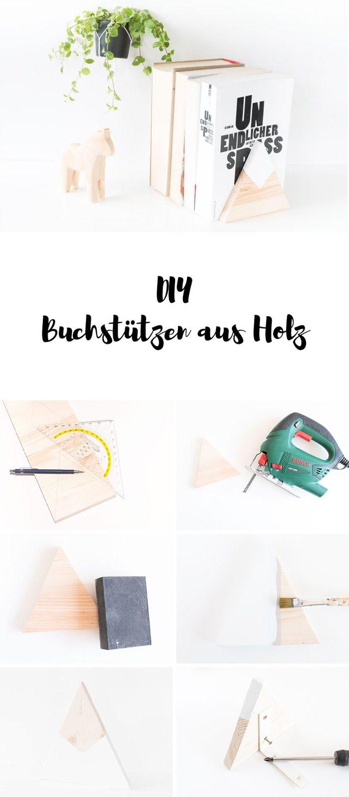 *10* DIY Buchstützen Aus Holz Und Meine Buchtipps Für Weihnachten