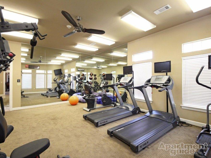 Fitness center community villas at aspen park in tulsa