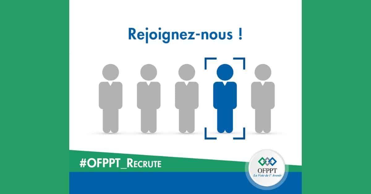 Ofppt Recrute Un Conseiller En Recrutement Et Des Formateurs Dimajob Bar Chart Accounting Chart