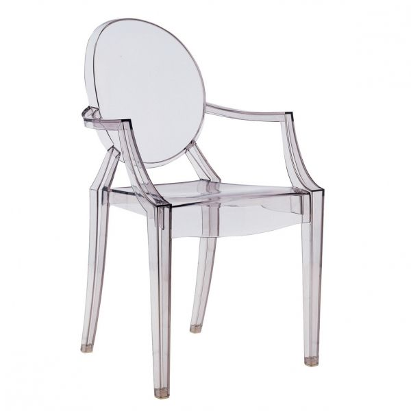 Design chair - Lous Ghost - by Philippe Starck - read more: http ...