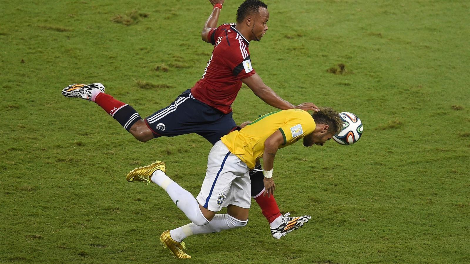 I Never Meant To Hurt Neymar Says Colombia S Zuniga Neymar Neymar Injury World Cup