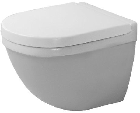 Starck 3 Toilet Wall Mounted Compact Duravit En Badkamer