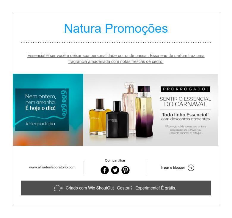 Natura Promoções