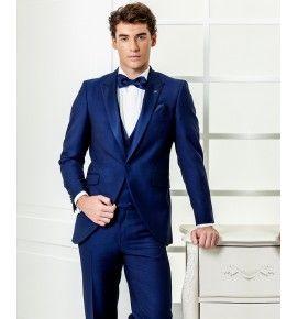 5b65254ae4e9d Resultado de imagen para trajes juveniles hombre azul con tirantes ...