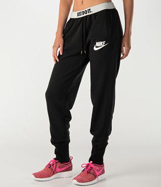 Women's Nike Rally Plus Jogger Pants | Finish Line. Black ...