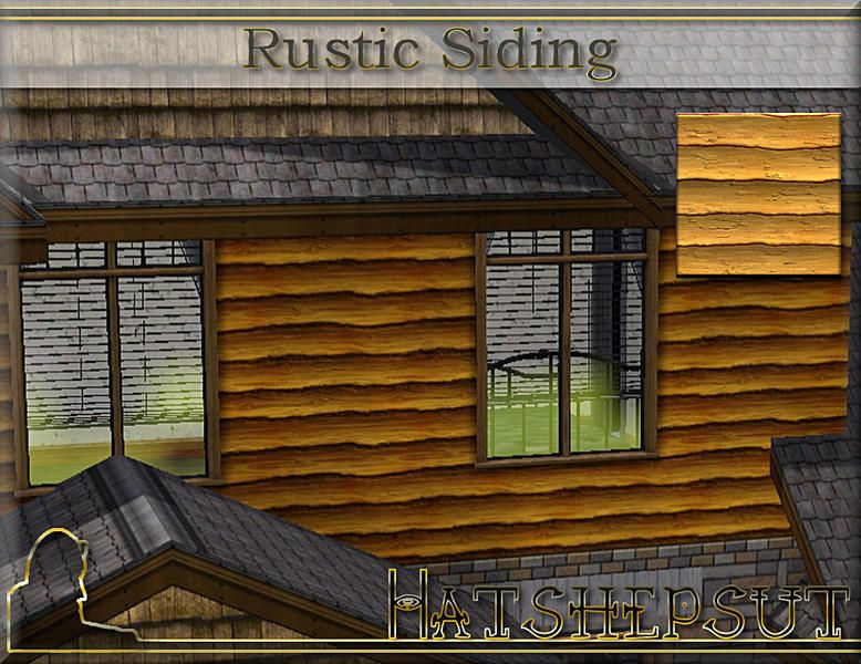 Rustic Log Look Vinyl Siding For Log Cabin With Full Log
