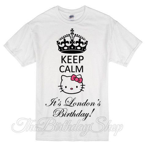 7f31b620f Keep calm - hello kitty adults shirt Hello Kitty Tutu, Hello Kitty Birthday,  Kitty