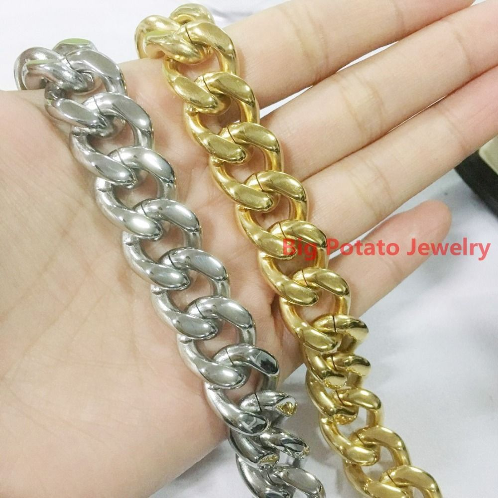New fashion high quality l stainless steel mm jewelry cool