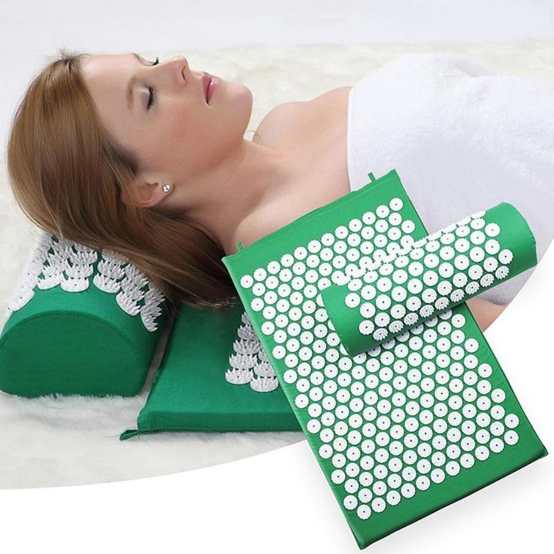 AcuMat™ Acupressure Massage Yoga Mat | Acupressure massage ...