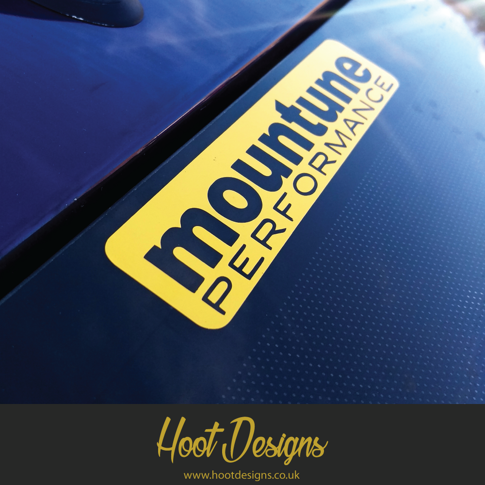Mountune Window Sticker Ford Fiesta Focus St Mountune Stance