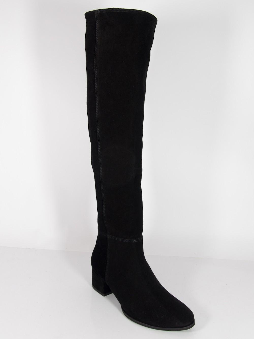 Kozaki Muszkieterki Vanessa 1016 Czarny Welur 40 6997840374 Oficjalne Archiwum Allegro Boots Fashion Wishlist Knee Boots