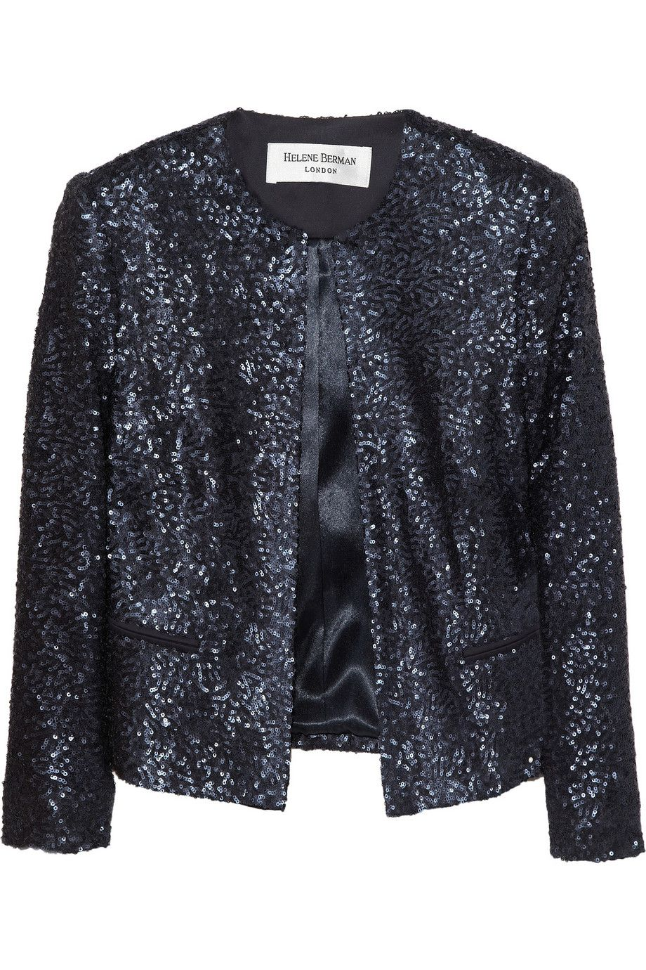 3f967f3573f Helene Berman Cropped sequined jacket - 30% Off Now at THE OUTNET ...