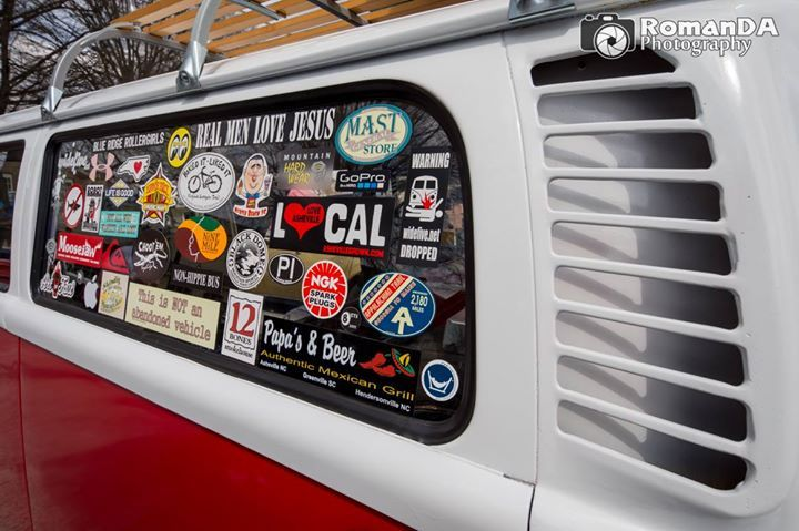 CruiseIn Kannapolis DKI ClassicCars Car CarShow VW Stickers - Car show stickers